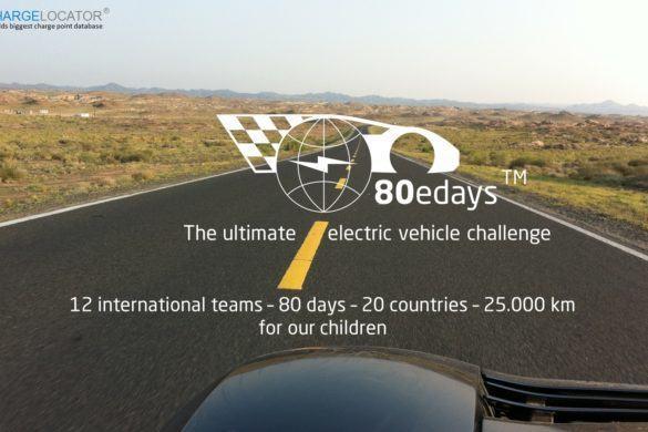 80edays - elektromos autók versenye a világ körül