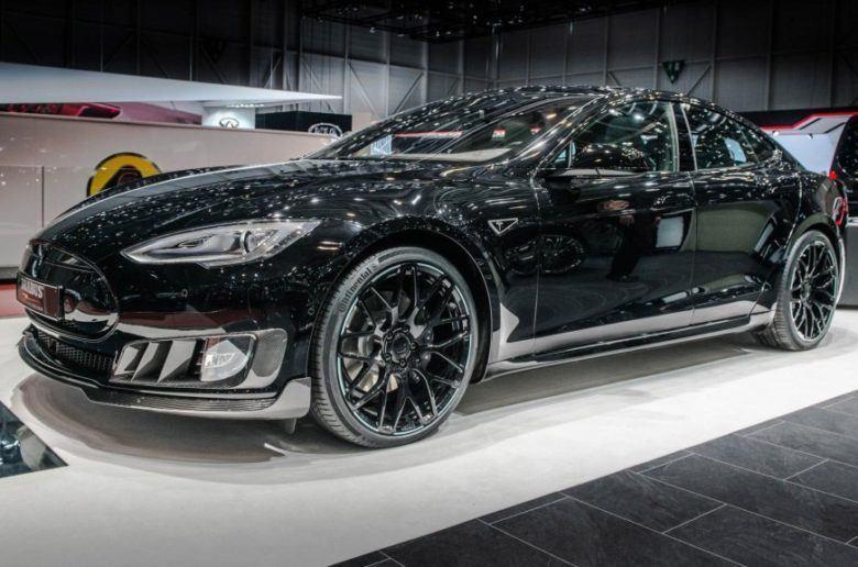 Brabus Tesla Model S - Az őrület határán
