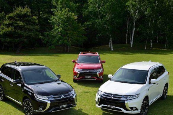 A Mitsubishi Outlander PHEV is belépett a 100 000-esek klubjába
