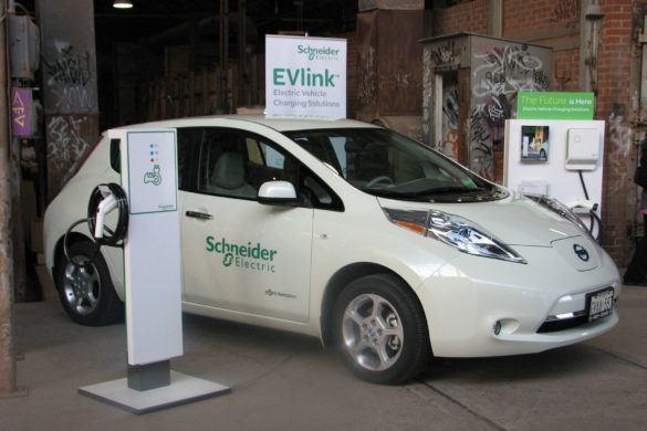 A Schneider Electric 80 töltőállomást telepít országszerte