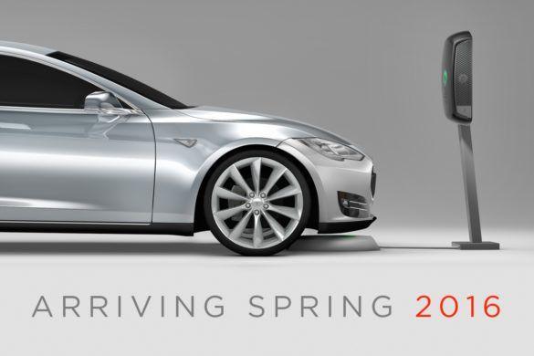 Vezeték nélküli töltő készül a Tesla Model S-hez