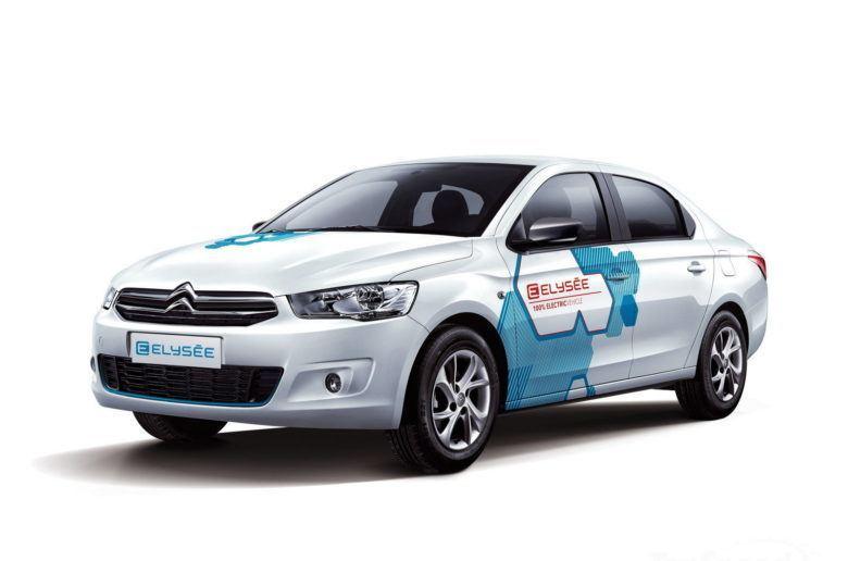 A Citroën kész berobbanni a kínai elektromos autópiacra, érkezik az E-Elysée.