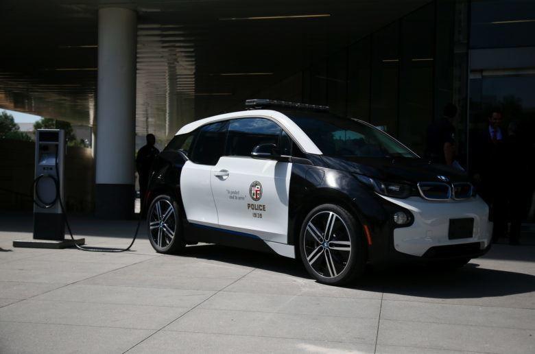 Száz új i3 a Los Angeles-i rendőrségnek
