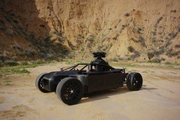BLACKBIRD - a mozivásznakra született elektromos autó