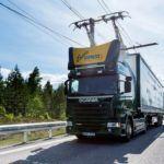 Áramszedővel közlekednek a kamionok Svédországban