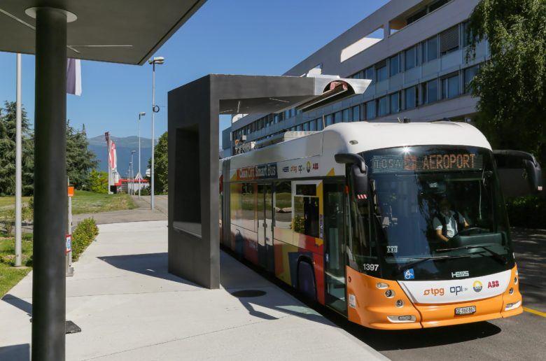 Megállóról megállóra töltik majd az elektromos buszokat Genfben