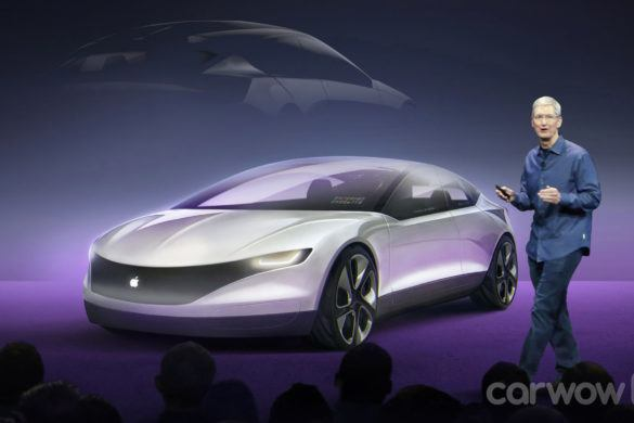 Lehetséges, hogy a Tesla keresztbe tett az Apple autójának?