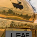 A Nissan arany LEAF-fel jutalmazza az olimpikonokat