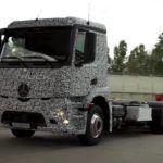 Elektromos kamion koncepció a Daimler-től