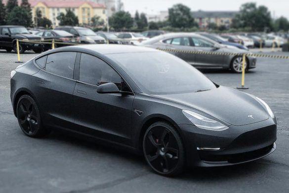 Újra lencsevégre kapták a Model 3 prototípusait