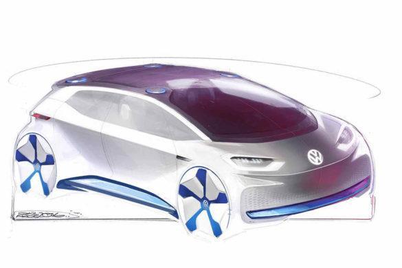 Újabb képek a Volkswagen elektromos reménységéről