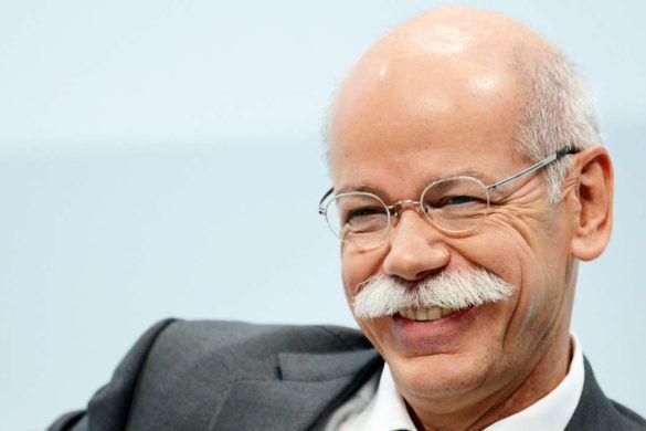 A Mercedes vezetője meglepte a német zöldeket