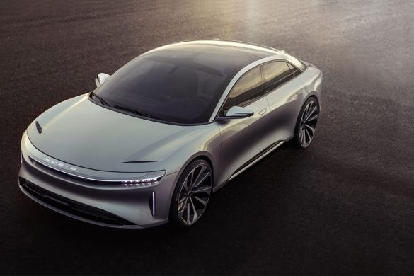 Itt az új Tesla gyilkos: 1000 lóerős Lucid Air