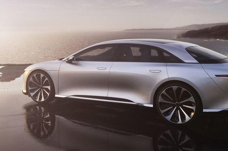 Itt az új Tesla gyilkos: 1000 lóerős Lucid Air
