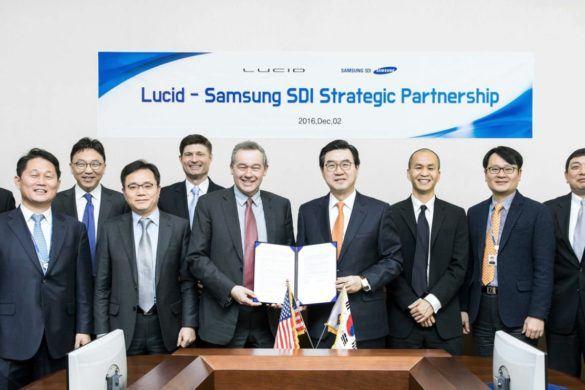 A Samsung SDI szállítja az akkumulátorokat a Lucid Motorsnak