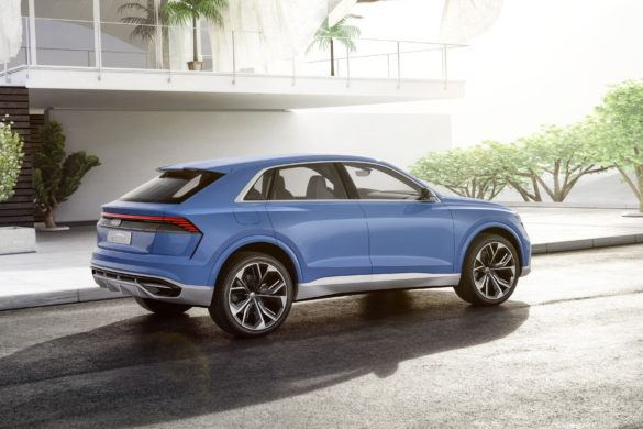 Az étvágytalan fenevad - Q8 koncepció az Auditól