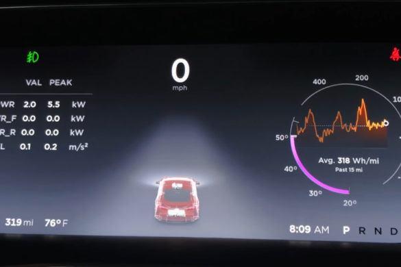 """,,Játékos"""" 35 lóerő bujkál a Model S P100D-ben"""