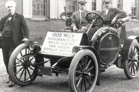 Íme Thomas Edison 100 éves elektromos autó töltőállomása