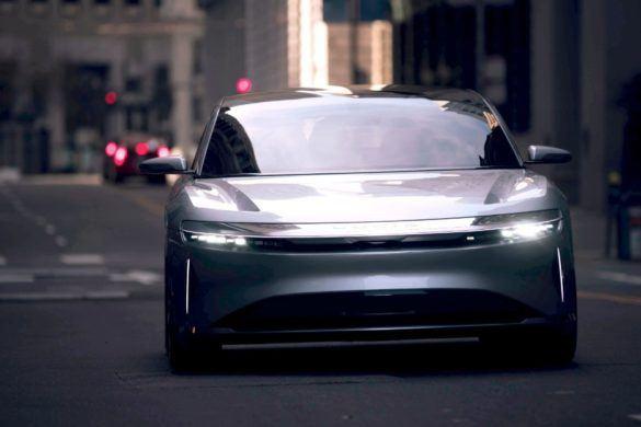 San Francisco utcáin a Lucid Air – Fotók, videó