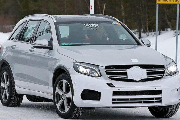 Kémfotó: már tesztelik a vadonatúj elektromos Mercedest