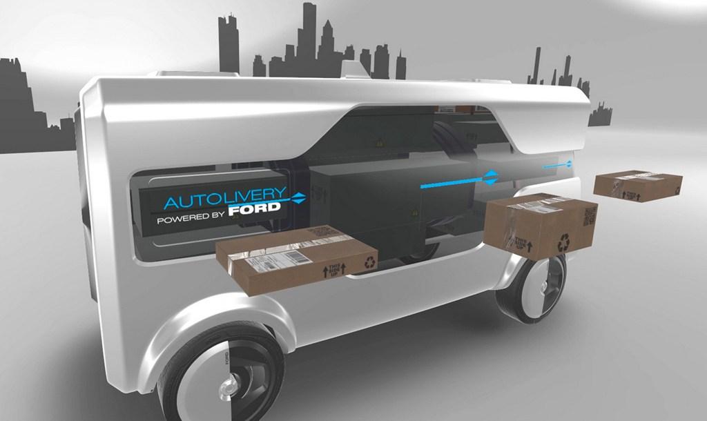 Önvezető elektromos autók és csomagszállító drónok a Fordtól