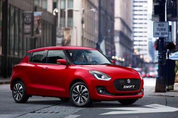 Könnyű és kompakt hibrid rendszer az új Suzuki Swiftben