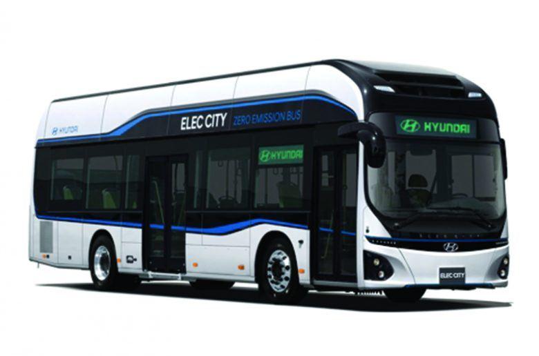 Elektromos buszokat villant a Hyundai