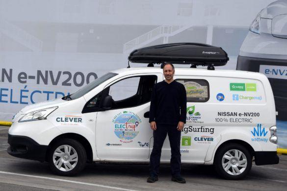 Elektromos haszongépjárművel Európán keresztül