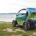 Felejthetetlen élmény - Renault Twizy-vel a Balatonon