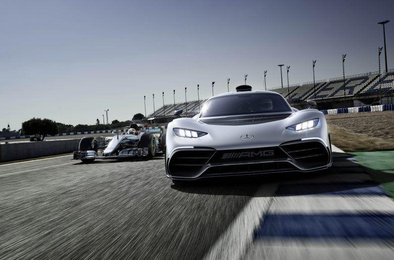 A Mercedes-AMG bemutatta a legizgalmasabb hibridet