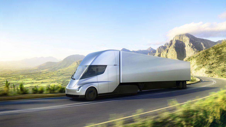 A Tesla bemutatta a kamionját - hihetetlen hatótávval