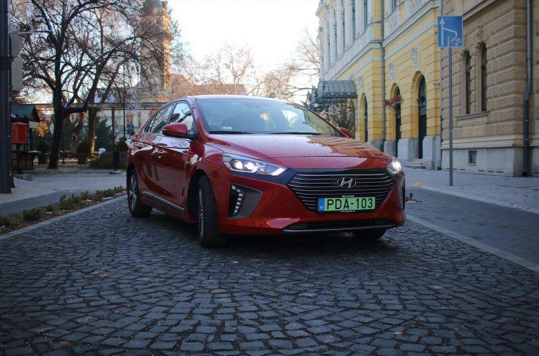 Hyundai IONIQ Plug-in Hybrid teszt