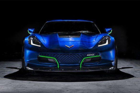 Itt a Genovation GXE - 800 lóerős villany-Corvette, manuális váltóval