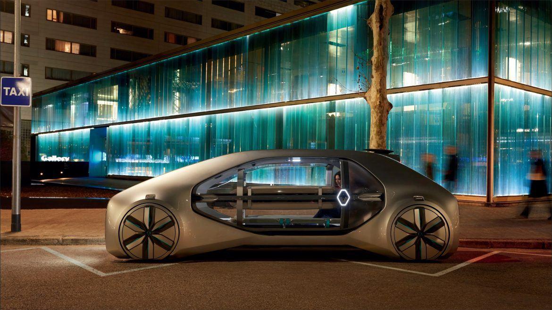 Futurisztikus önvezető taxit mutatott be a Renault