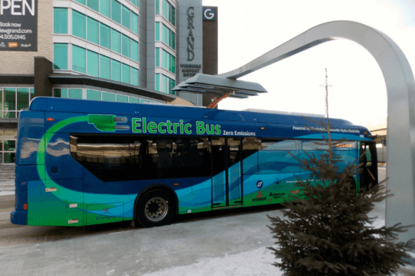 Az akkumulátorcsomag miatt borulhatott az oldalára az elektromos busz