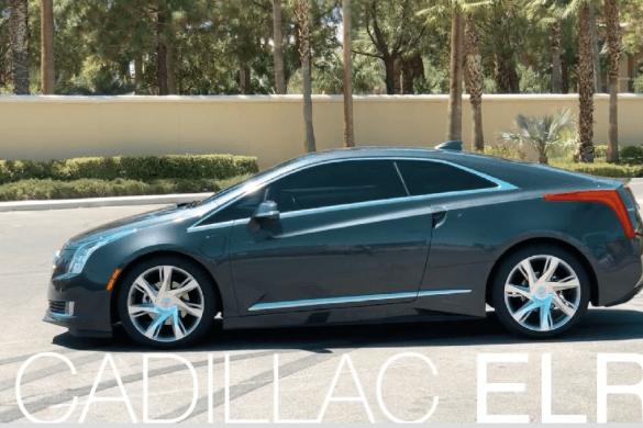 Cadillac ELR – az ék alakú hibrid [videó]
