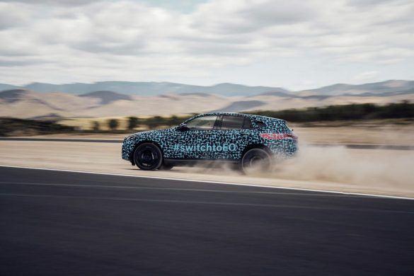 Spanyolországban tesztelték a Mercedes elektromos SUV-ját