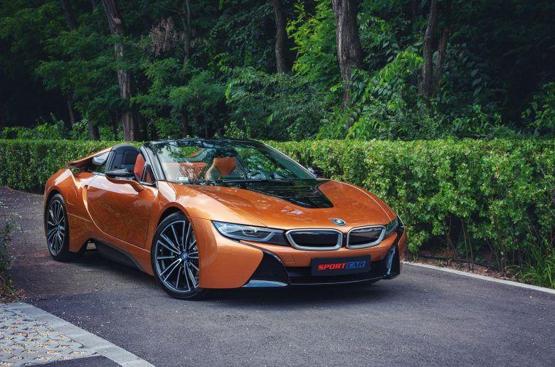 BMW i8 Roadster Magyarországon - videó és képgaléria