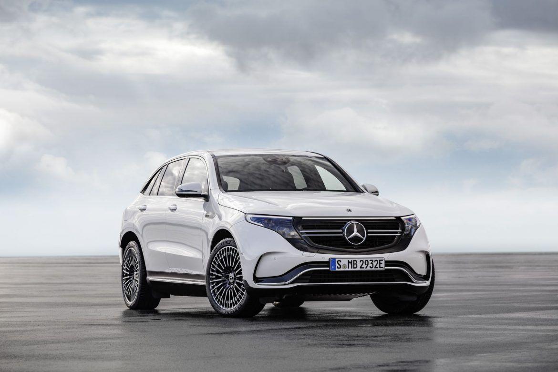 Megérkezett a Mercedes-Benz EQC