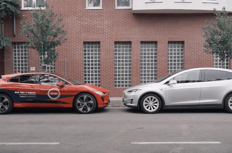 Jaguar I-Pace VS Tesla Model X hatótáv teszt [videó]