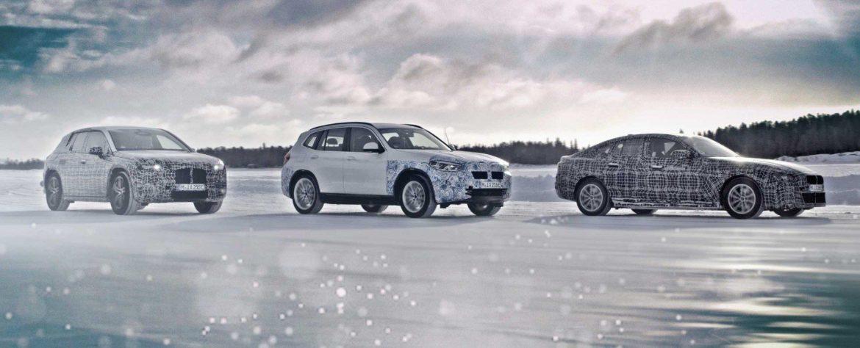Képeken a három elektromos BMW prototípus