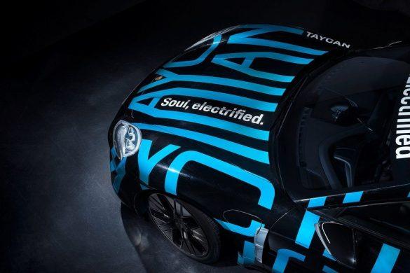 Új képek érkeztek a Porsche Taycanról