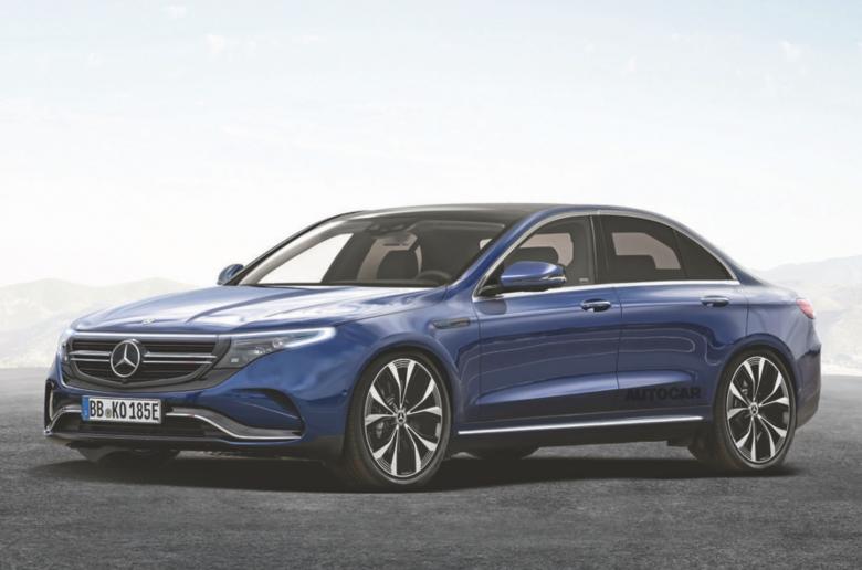 Magas hatótávú elektromos szedánnal támad a Mercedes 2022-ben