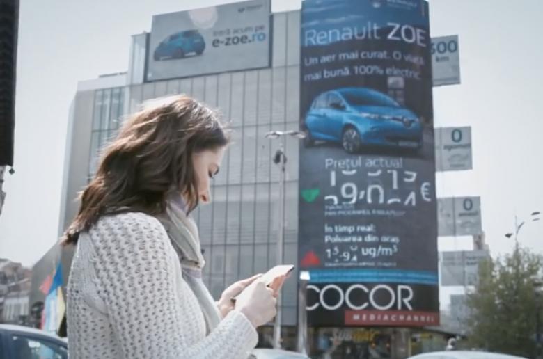A légszennyezettség alapján mozgott a Renault Zoe ára Bukaresten