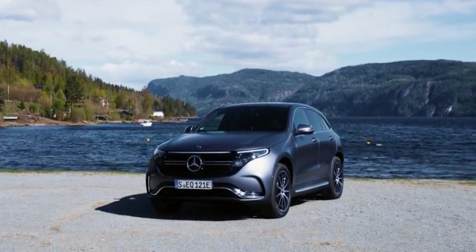 Mercedes-Benz EQC teszt Norvégiában [videó]