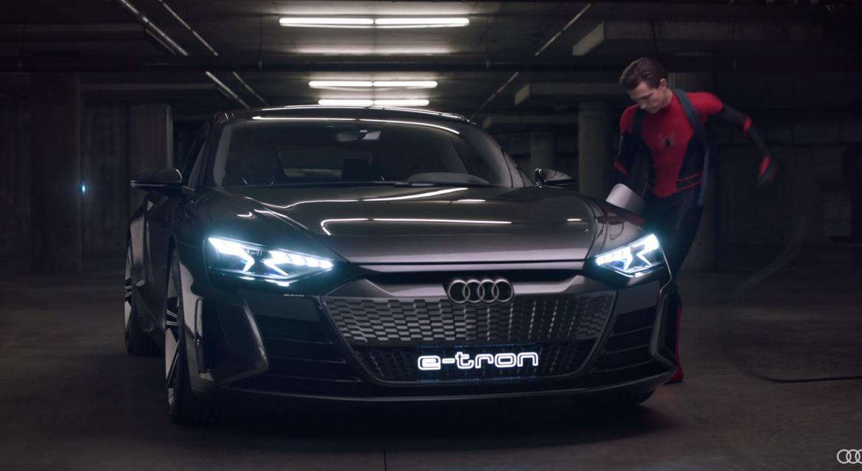 Pókember is elektromos Audival nyomul - videó