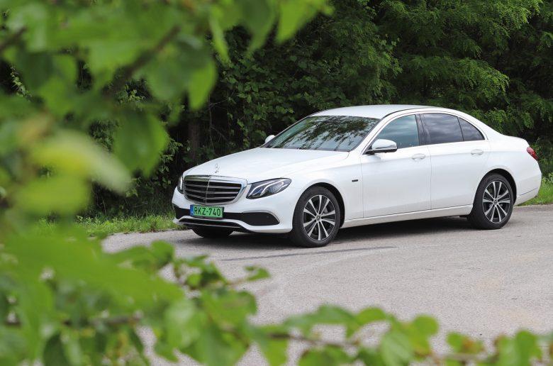 Szinte ajándék: kipróbáltuk a dízelhibrid új Mercedes E-osztályt
