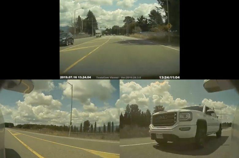 A pickupos kötözködött a Teslával – 800 dolláros bírsággal jutalmazta a rendőrség