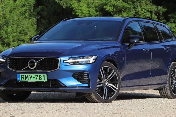 Volvo V60 T8 teszt: hibrid sportkombi