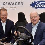 Az elektromos és az önvezető autók területén is társul a Volkswagen és a Ford